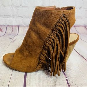 Coconuts by Matisse Shoes - Coconuts by Matisse Brown Suede Booties Size 7.5